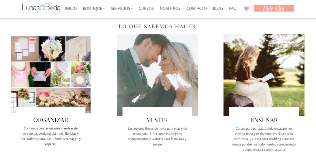 lunasdboda tienda bodas madrid