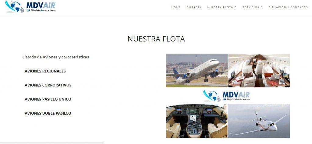 empresa de vuelos privados