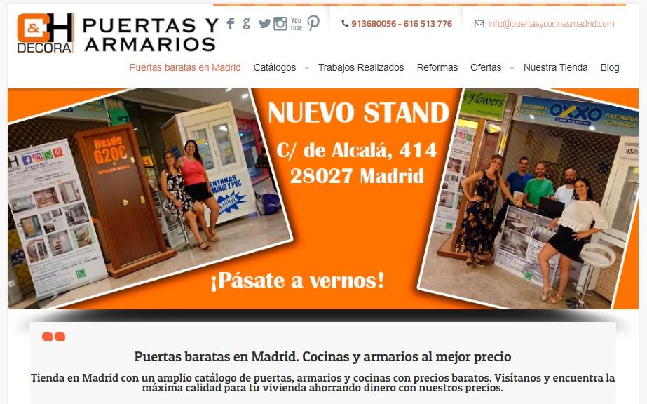 ch decoracion tienda online puertas y armarios