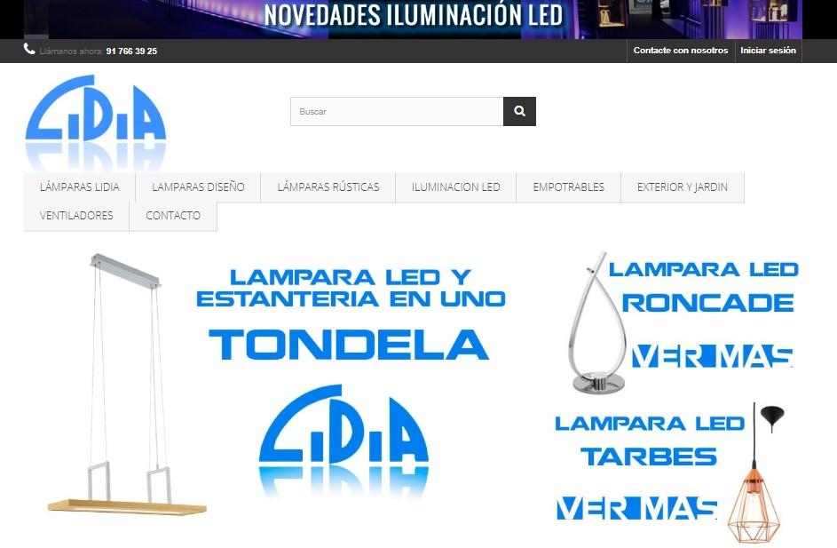 lamparas lidia tienda online lamparas