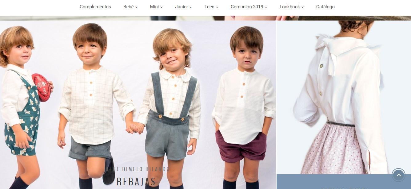 tienda ropa infantil Dímelo Hilando