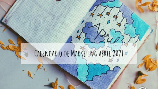 calendario marketing abril