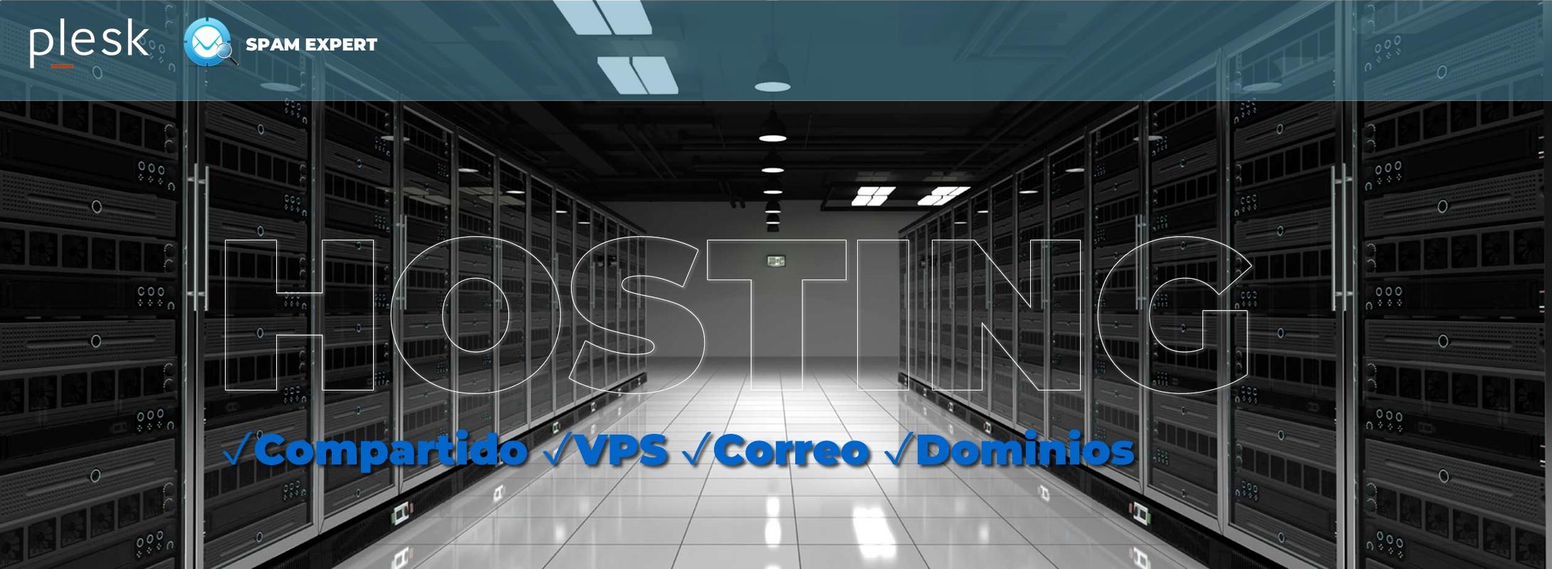 Hosting profesional. Alojamiento Web